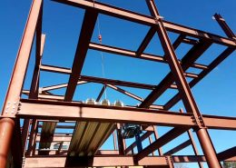 Steelwork Engineering steel fabricated buildings