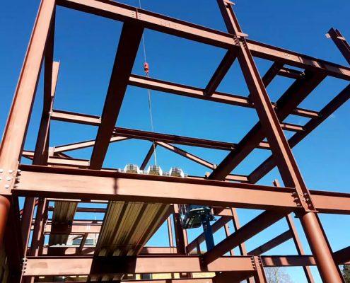 Steelwork Engineering steel fabricated buildings